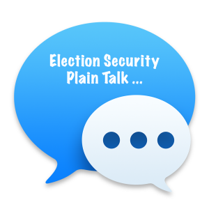Election Security Plain Talk Series icon